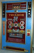 Rotomat Trianon (Wulff, 1974) - dieses Gerät konnte durchaus bis zu 100 Mark Gewinn am Stück auszahlen