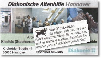 Stier - Diakonische Altenhilfe Hannover