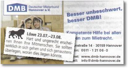 Löwe - Deutscher Mieterbund
