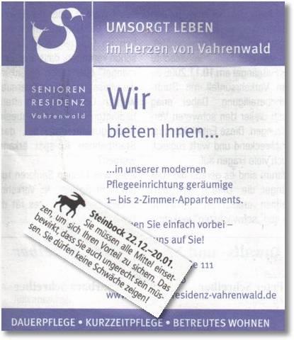 Steinbock - Senioren-Residenz Vahrenwald
