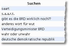 saart, s.a.a.r.t, gibt es die BRD wirklich noch?, Verteidigungsminister BRD, wahr oder unwahr, deutsche demokratische republik