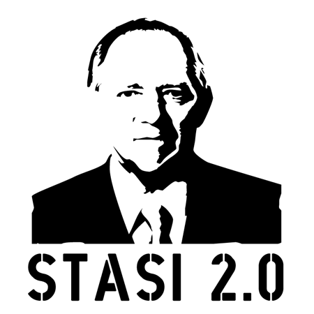 Stasi 2.0 - WolfgangSchäuble