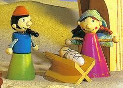 Josef, Maria und Jesus