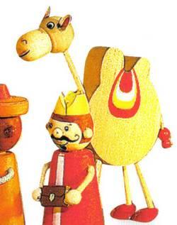 Kamel und Geschenkebringer