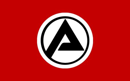 Die inoffizielle Flagge des Vierten Deutschen Reiches