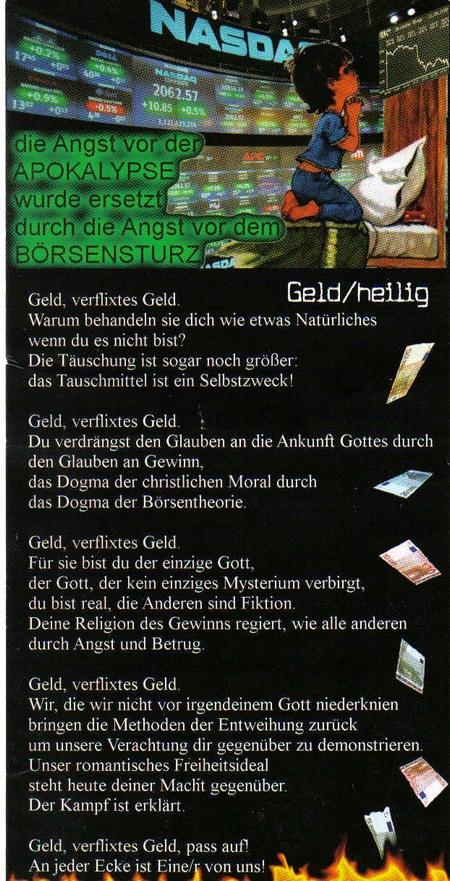 Geld/heilig
