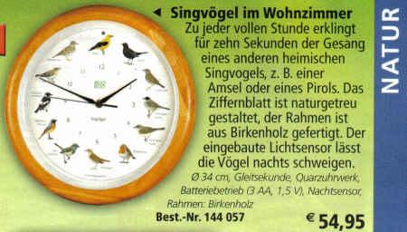 Birkenholz -- 54,95 Euro