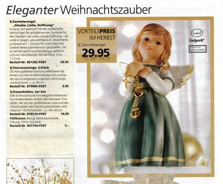 Eleganter Weihnachtszauber - Vorteilspreis im Herbst - Sammlerengel