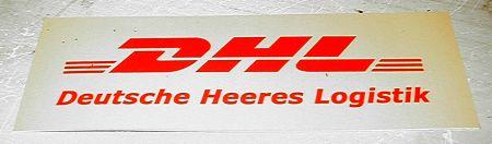 DHL - Deutsche Heeres Logistik