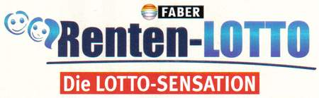 Faber - Renten-Lotto - Die LOTTO-SENSATION