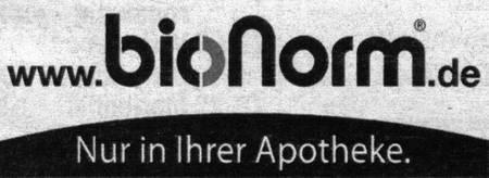 www.bionorm.de - Nur in Ihrer Apotheke