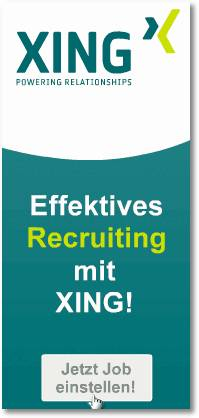 XING - POWERING RELATIONSHIPS - Effektives Recruiting mit XING! Jetzt Job einstellen!