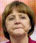 Angela Merkel, eine kraftvolle Bundeskanzlerin der BRD