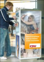 Hartz-IV-Empfänger auch zu niederer Arbeit verpflichten -- CDU