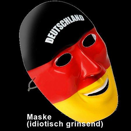 Maske (idiotisch grinsend)