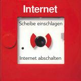 Scheibe einschlagen, Internet abschalten