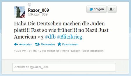 Haha Die Deutschen machen die Juden platt!!! Fast so wie früher!!! no Nazi! Just American >3