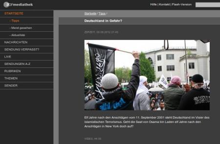 Elf Jahre nach den Anschlägen vom 11. September 2001 steht Deutschland im Visier des islamistischen Terrorismus. Geht die Saat von Osama bin Laden elf Jahre nach den Anschlägen in New York doch auf?