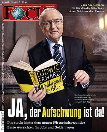 Focus-Titelseite: Ja, der Aufschwung ist da! Das steckt hinter dem neuen Wirtschaftswunder. Beste Aussichten für Jobs und Geldanlagen