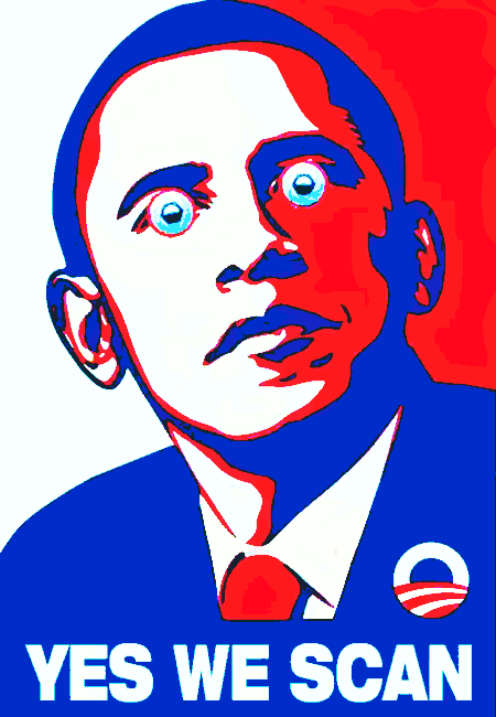Obame: Yes, we scan!
