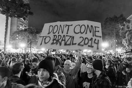 Don't come to Brazil 2014